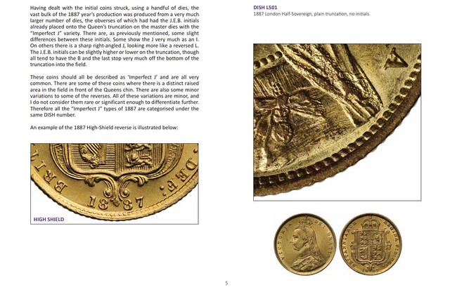 Jubilee Head Half Sovereign sample page