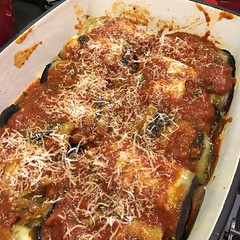#Sicilian #Eggplant Rolls #Involtini di #Melanzane alla #Siciliana #homemade #food #CucinaDelloZio -