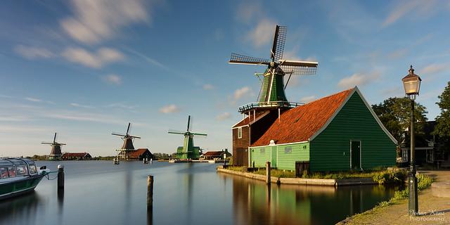 Classic Dutch Windmills