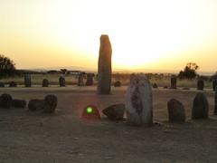 xerez stone circle at sunrise