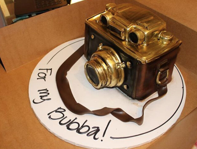 3D Camera Cake by Cake and Art