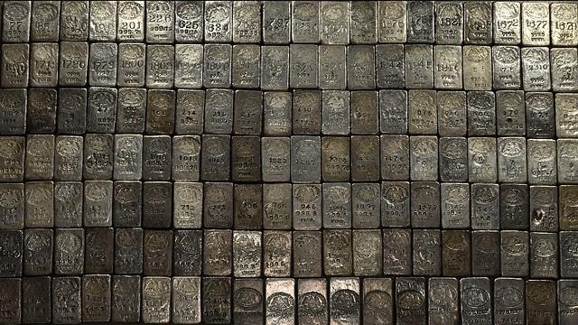 140 U.S. Mint silver ingots
