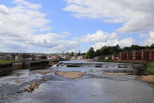 Trews Weir low water level