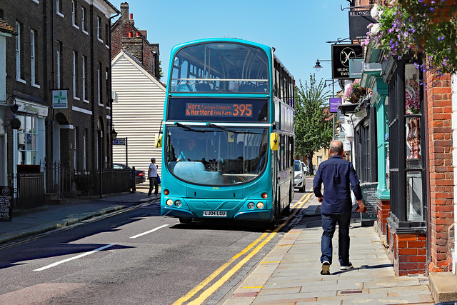 Arriva Bus 6046 Working Sele Farm Hertford to Ware