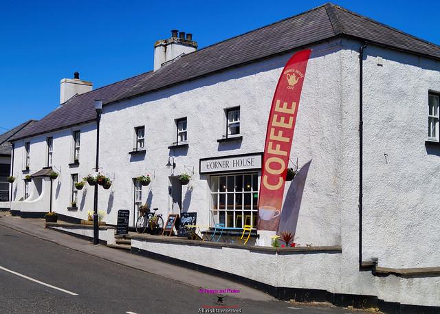 Corner house pub Cushendun