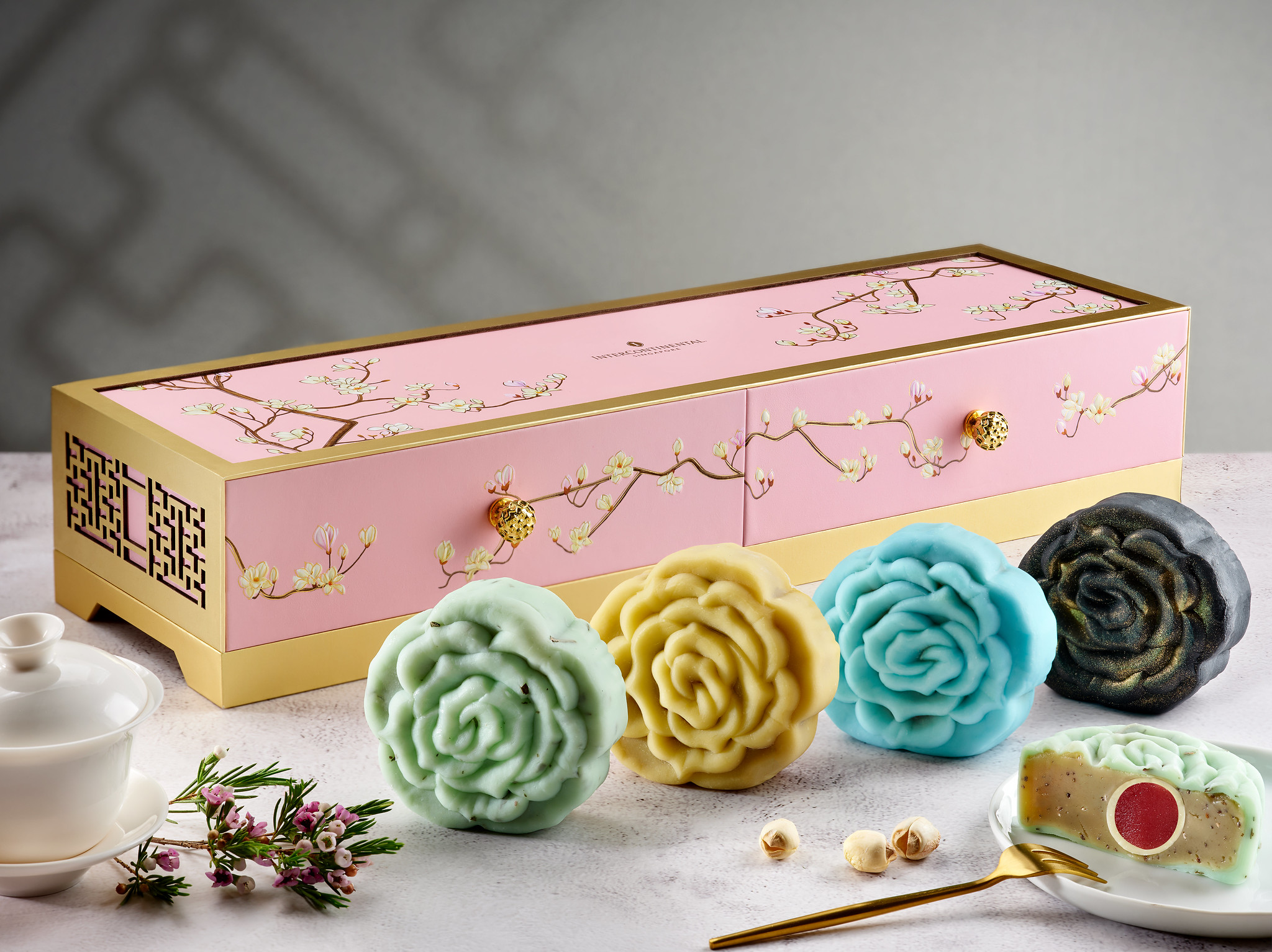 InterContinental Singapore_Snowskin Mooncakes- Tea Collection