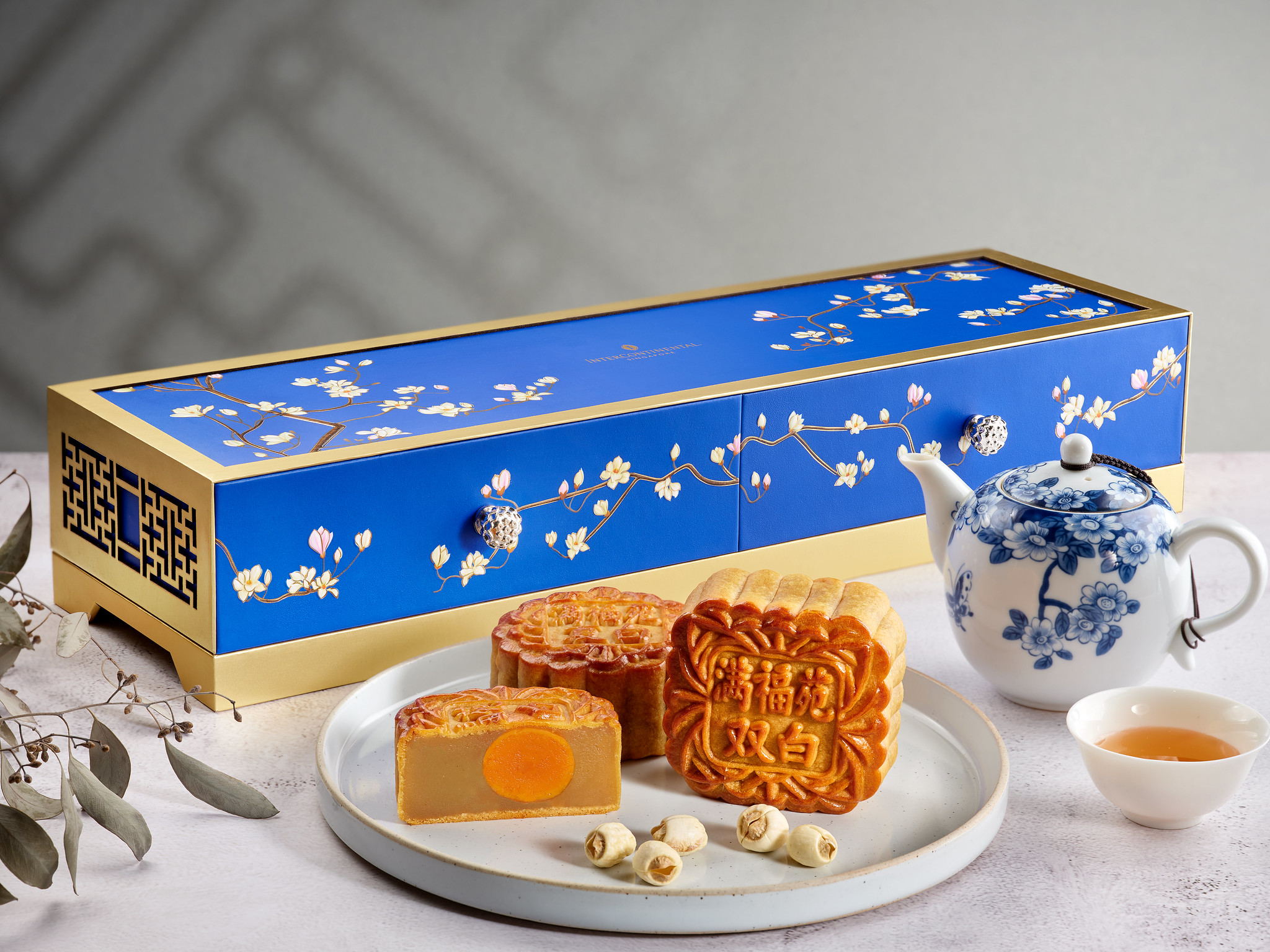 InterContinental Singapore_Baked Mooncakes