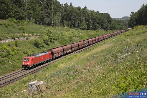 185 231 . DB Cargo . Sinngrün , Beratzhausen . 26.06.19.
