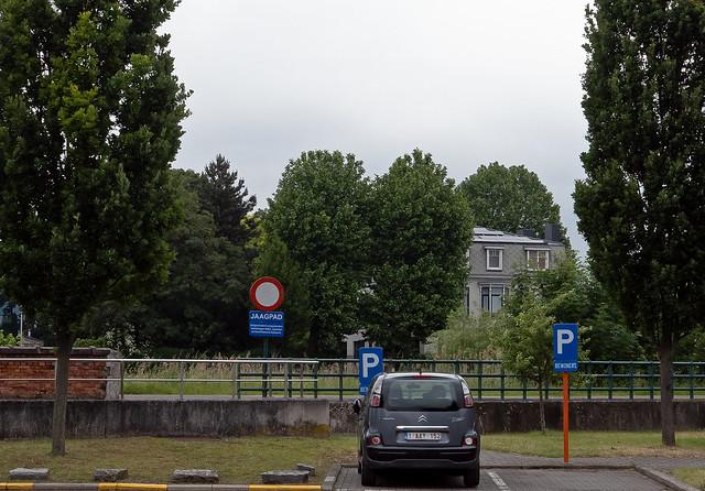 Langs de Schelde in Gentbrugge