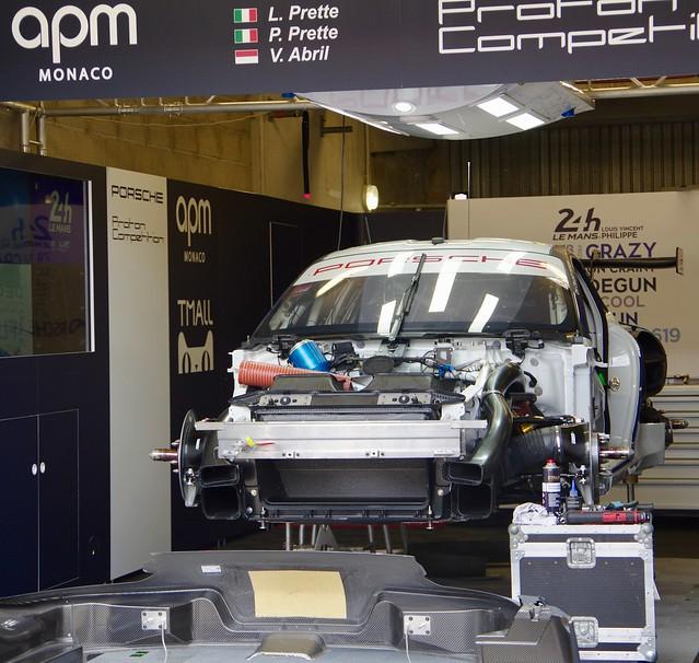 Proton Competition's Porsche 911 RSR