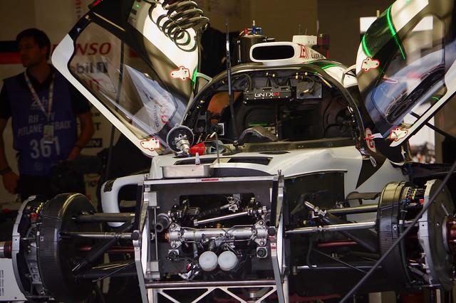 Toyota Gazoo Racing's Toyota TS050 Hybrid