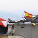 Ensayo de la jura de Bandera en el L-61 en Vigo