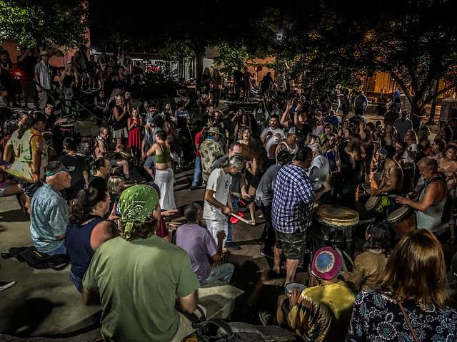 2019-06-28 Asheville Drumming