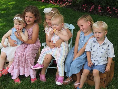 Marika, Lou, Josie, Cora, Marn, & Jack