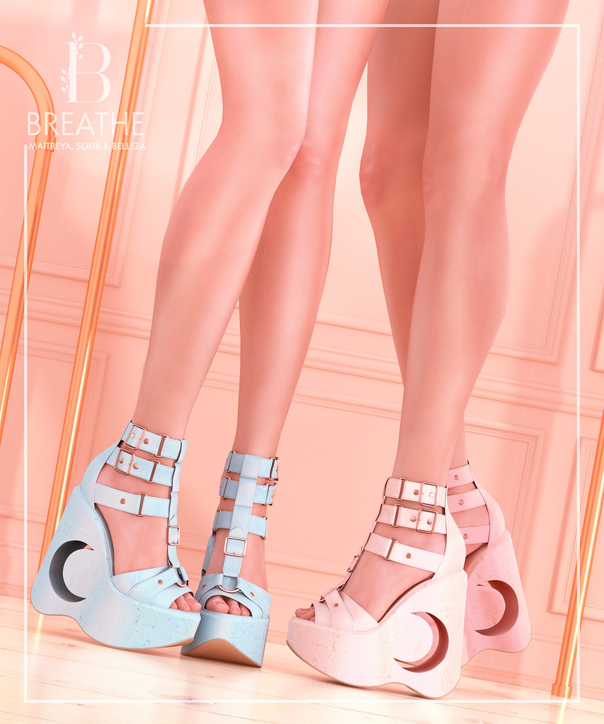 [BREATHE]-Tomiso Wedges@The Crystal Heart