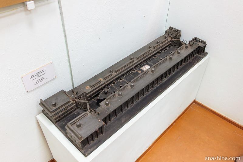 Макет шлюза №1 Мариинского канала, Вытегра