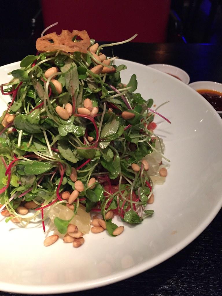 Hakkasan - Crispy Duck Salad