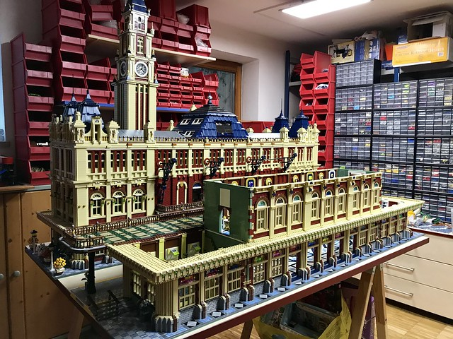 27_Train Station Building 2 in process