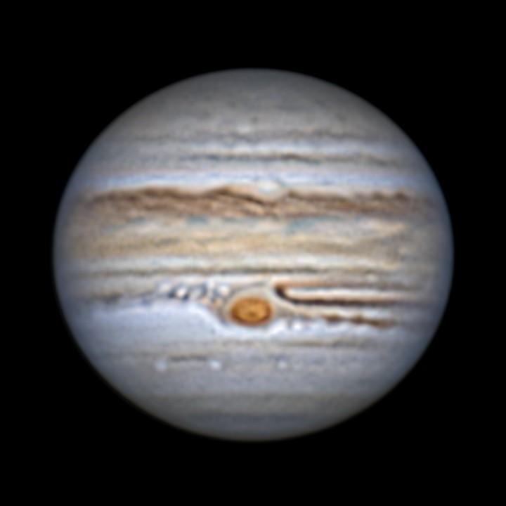 木星 (2019/6/13 22:07) (再々々々々処理(セルフLRGB))