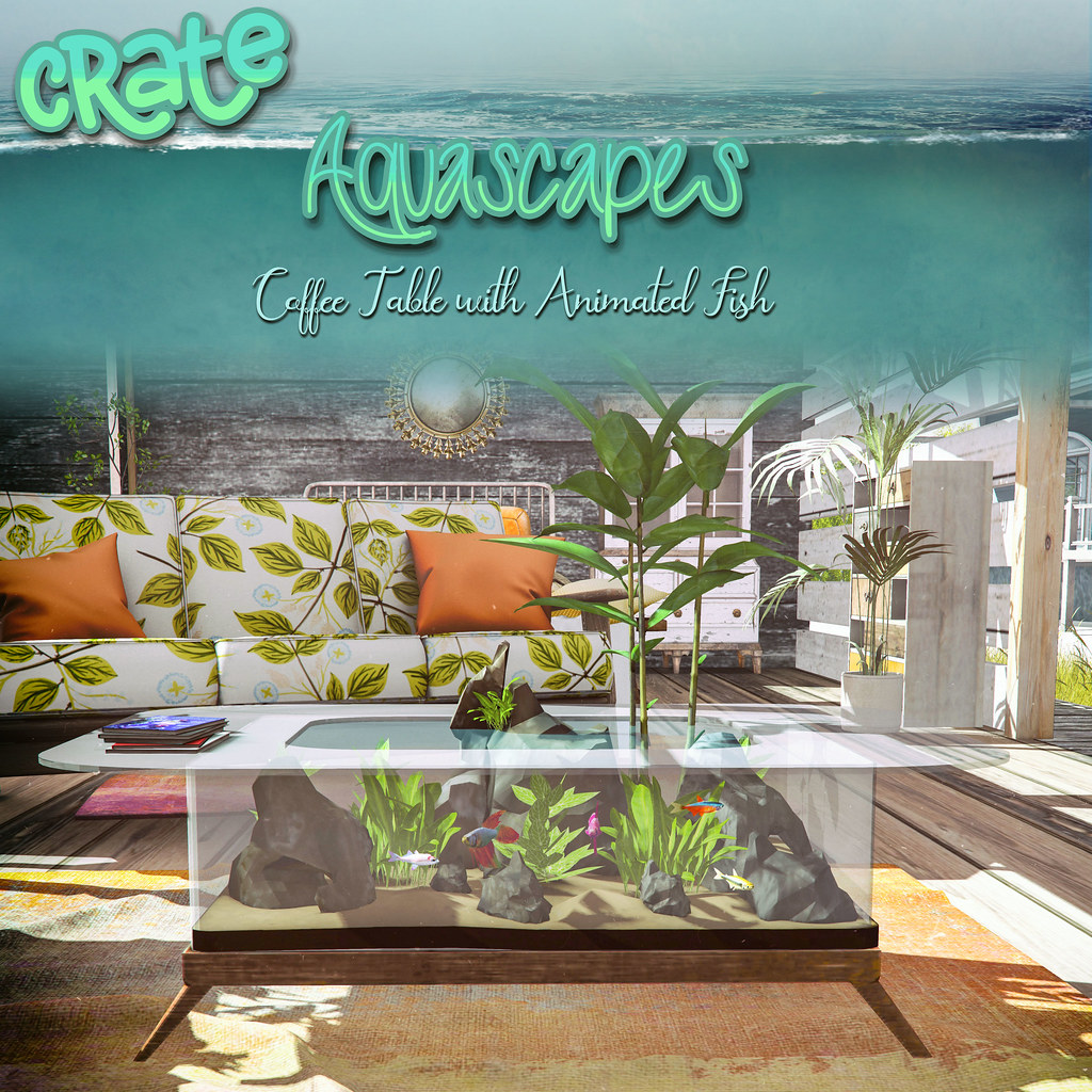 crate Aquascapes Coffee Table