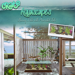 crate Aquascapes Hanging Table