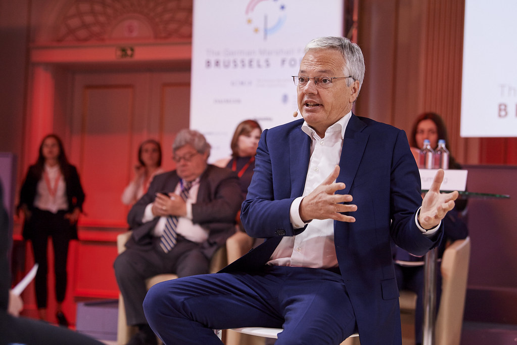 Brussels Forum 2019: A Conversation with The Hon. Didier Reynders
