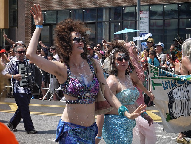 Natural Coney Island Mermaids