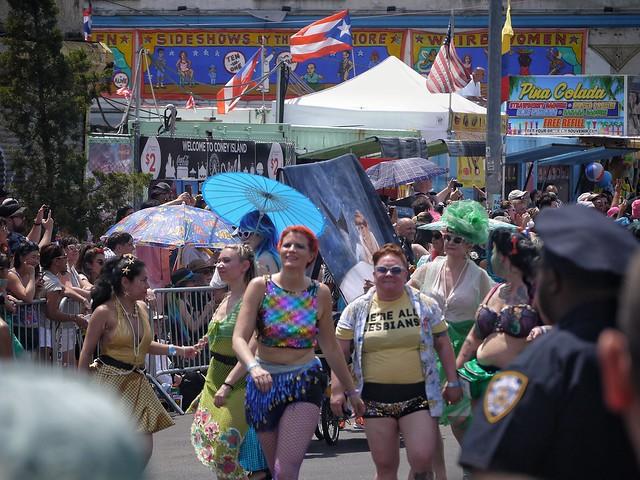 Coney Island Mermaid Parade 2019. Brooklyn, NY