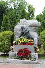 Ivan Franko grave, Lychakiv cemetery, L'viv