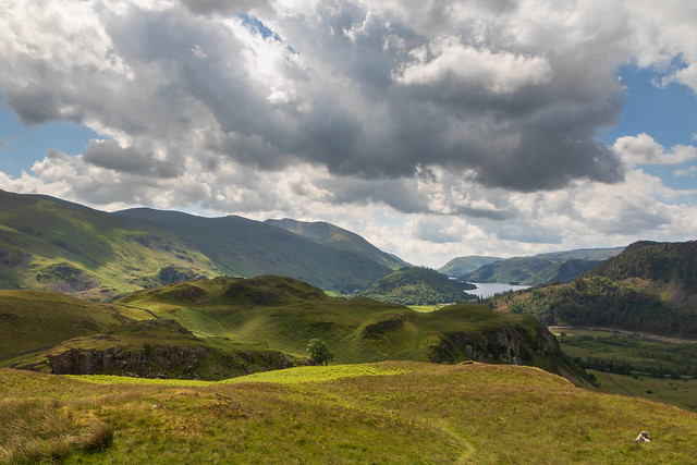 Looking back up Thirlmere