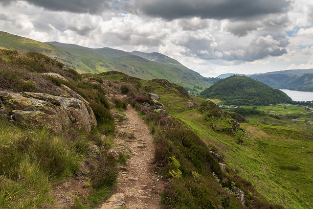 On the way to Wren Crag
