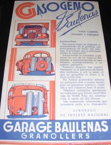 Gasògen Baulenas