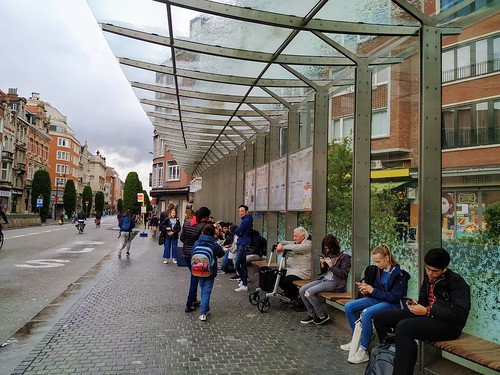 Parada de Bus en Lovaina