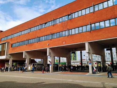 Estación de autobuses en Lovaina