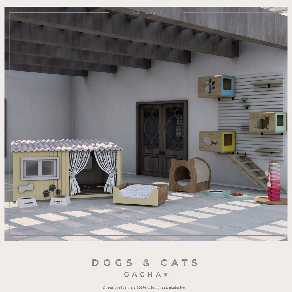 {YD} DOGS & CATS ♥ Gacha