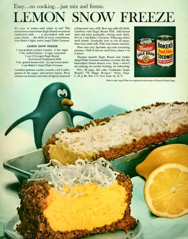 Borden's, Baker's 1960