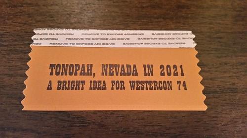 Tonopah Westercon Ribbon