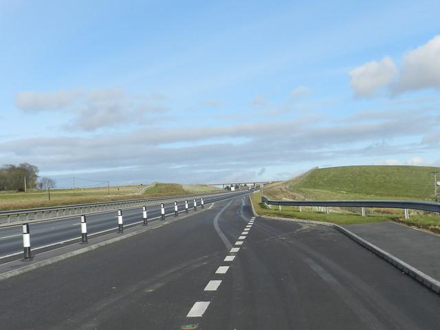 Aberdeen Western Peripheral Route (AWPR), Balmedie to Tipperty, Feb 2019