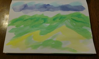 062319 watercolor sketch Koolau