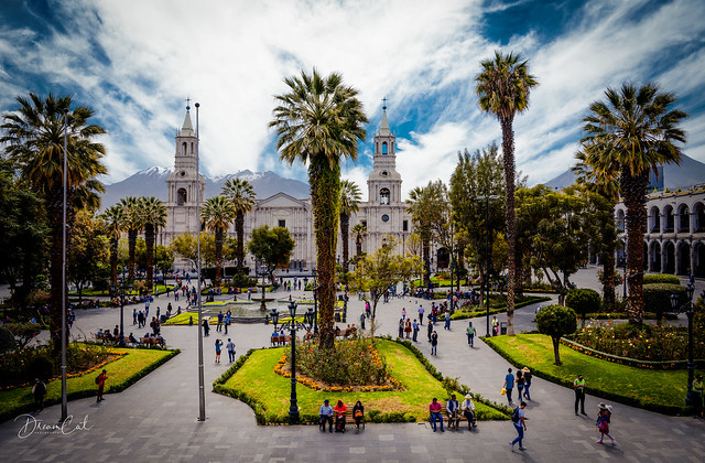 Arequipa, the city surrounded by volcanoes