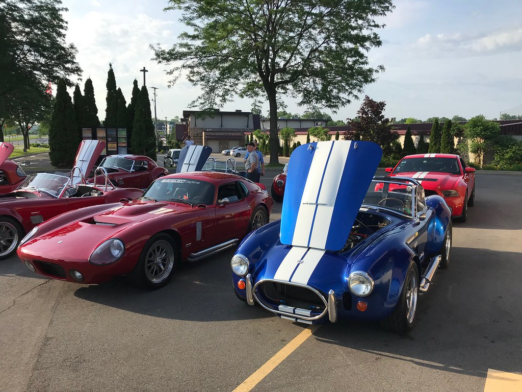 Great Lakes Cobra Club C&C at High Octane Cafe