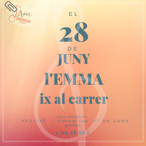 Aquest juny el celebrem amb la Música al Carrer