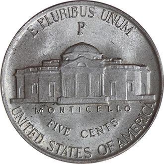 1945-P-Jefferson-War-Nickel-Reverse