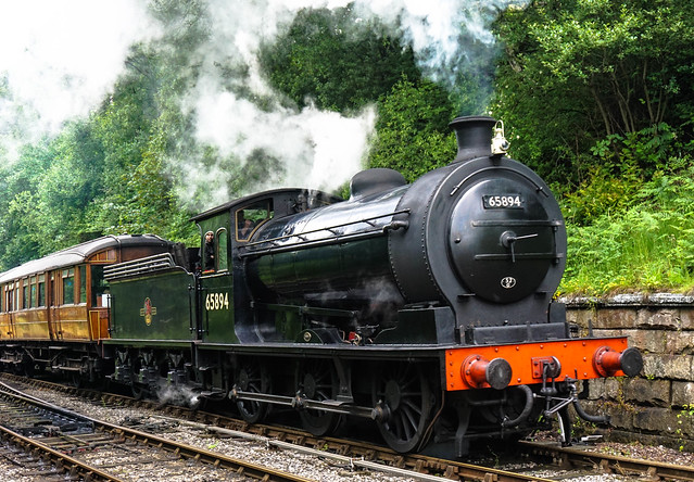 Steaming into Goathland