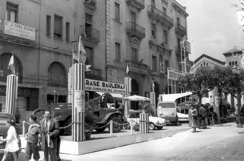 Estand Garatge Baulenas Fira de mostres 1959_AMGr