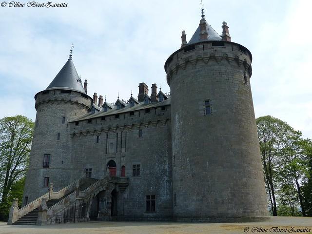 Le château de Combourg - Île et Vilaine - Bretagne - France - Europe