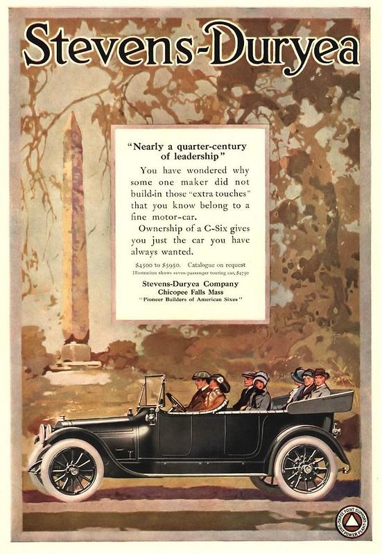 1913 Stevens-Duryea