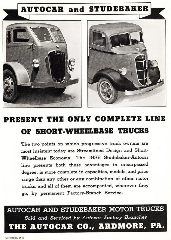 1936 Autocar, Studebaker