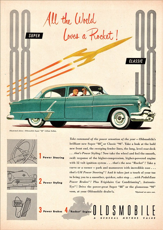 "1953 Oldsmobile Super ""88"" 4-Door Sedan"