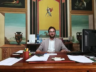 Il sindaco di Casamassima, Giuseppe Nitti
